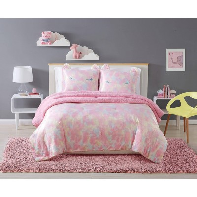 Rainbow Sweetie Comforter Set Pink - My World