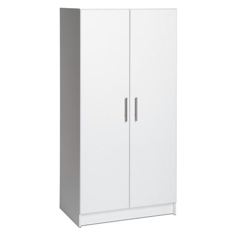 Elite 32 Storage Cabinet White