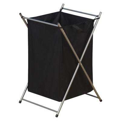 Household Essentials Laundry Hamper on Casters with Removable Bag