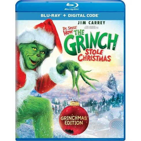 Dr Seuss-How The Grinch Stole Christmas-Grinchmas Edition (Blu-ray) - image 1 of 1