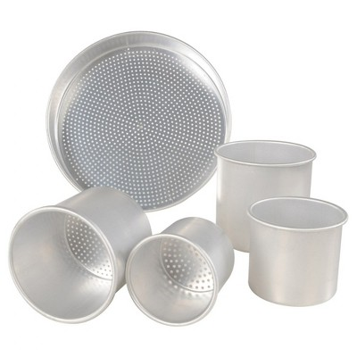 Kaplan Early Learning Aluminum Sand Sifter Set - Set of 5