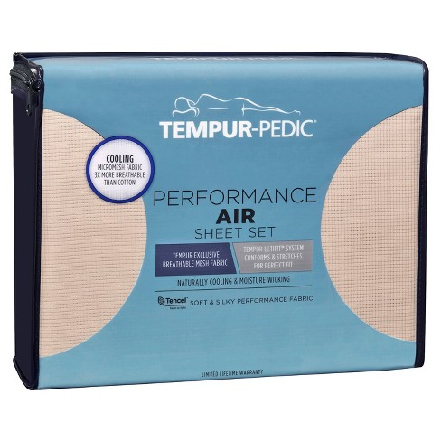 Performance Air Solid Sheet Set - Tempur-Pedic - image 1 of 4