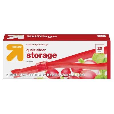 Food Storage Bags: up & up Slider Storage