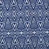 2pk Geometric Dimensions Reversible Chair Pads Blue - Pillow Perfect - image 2 of 2