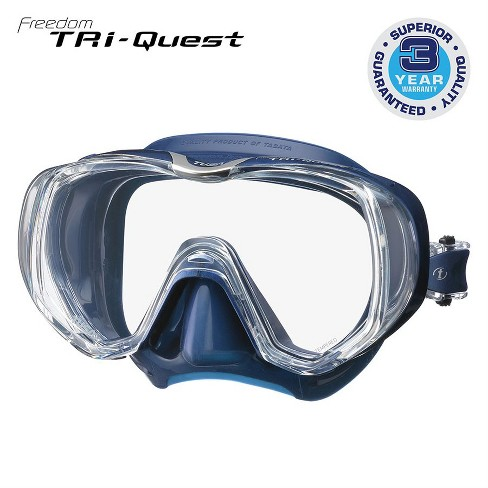Tusa Freedom Tri-Quest SCUBA Diving Mask - image 1 of 1