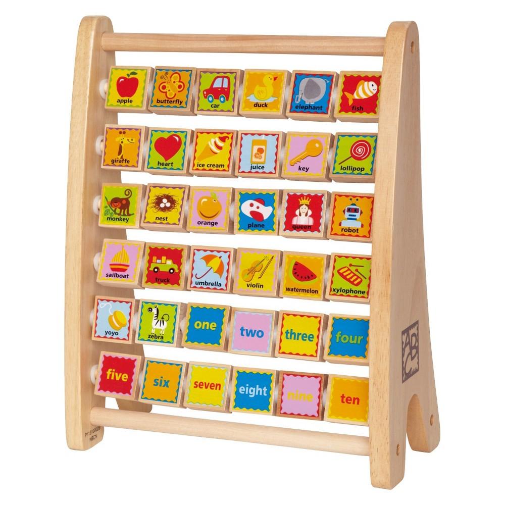 Hape Alphabet Abacus, Baby and Toddler Learning Toys Hape Alphabet Abacus Gender: Unisex.