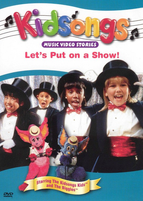 Kidsongs:Let's put on a show (DVD) - image 1 of 1
