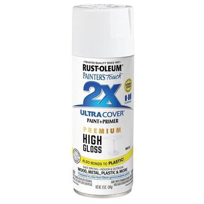 Rust-Oleum Ultra Cover 2X High Gloss Spray White