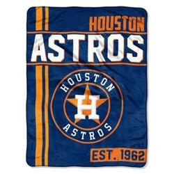 MLB Houston Astros Micro Fleece Throw Blanket