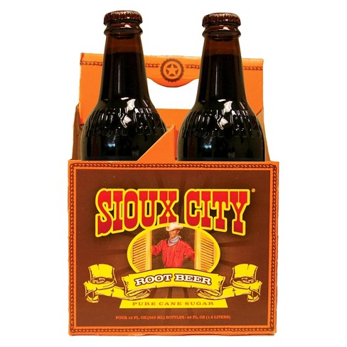 Sioux City Root Beer - 4pk/12 fl oz Glass Bottles - image 1 of 1