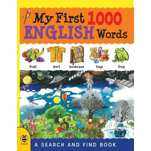 My First 1000 English Words - (My First 1000 Words) (Paperback) - image 1 of 1