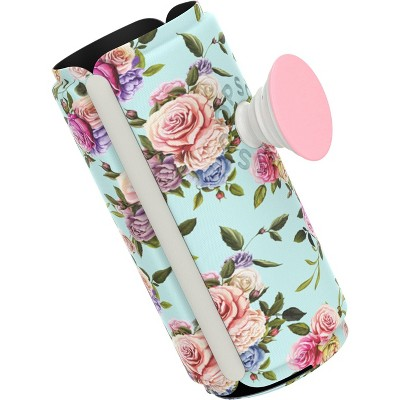 PopSockets PopThirst Retro Wild Rose Can Holder and Swappable Grip