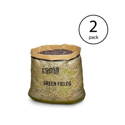 Roots Organics ROGF Green Fields Hydroponic Garden Potting Soil, 10 Gal, 2 Pack