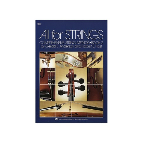 KJOS All For Strings Book 2 Cello - image 1 of 1