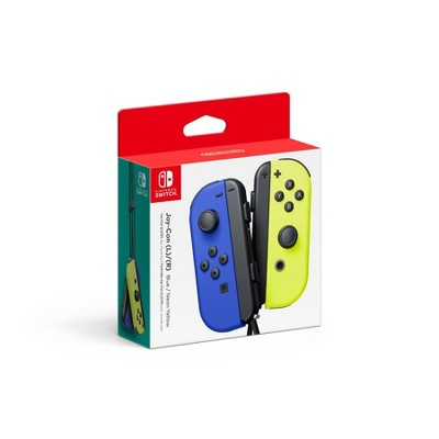 Nintendo Switch Joy-Con L/R - Blue/Neon Yellow