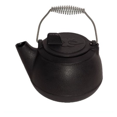Camp Chef Cast Iron Tea Pot - Black