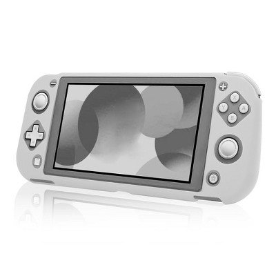 Insten Soft Silicone Skin [Lightweight][Anti-Scratch] Protective Rubber Gel Jelly Full Body Grip Cover Compatible with Nintendo Switch Lite 2019 White