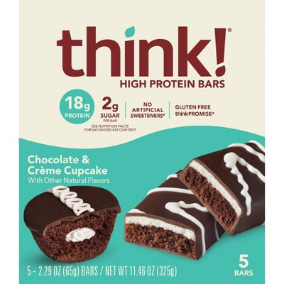 Think! High Protein Chocolate Cupcake - 5pk