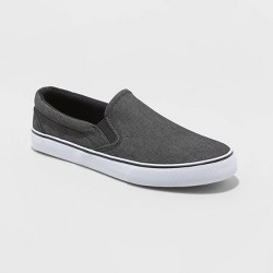 Men's Phillip Twin Gore Sneakers - Goodfellow & Co™ Charcoal