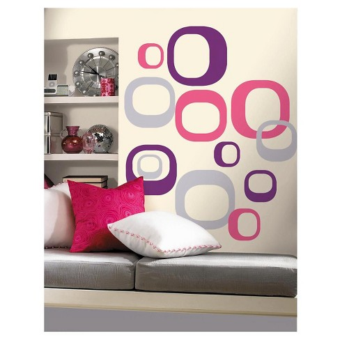 RoomMates Modern Ovals Peel & Stick Wall Decals - image 1 of 1