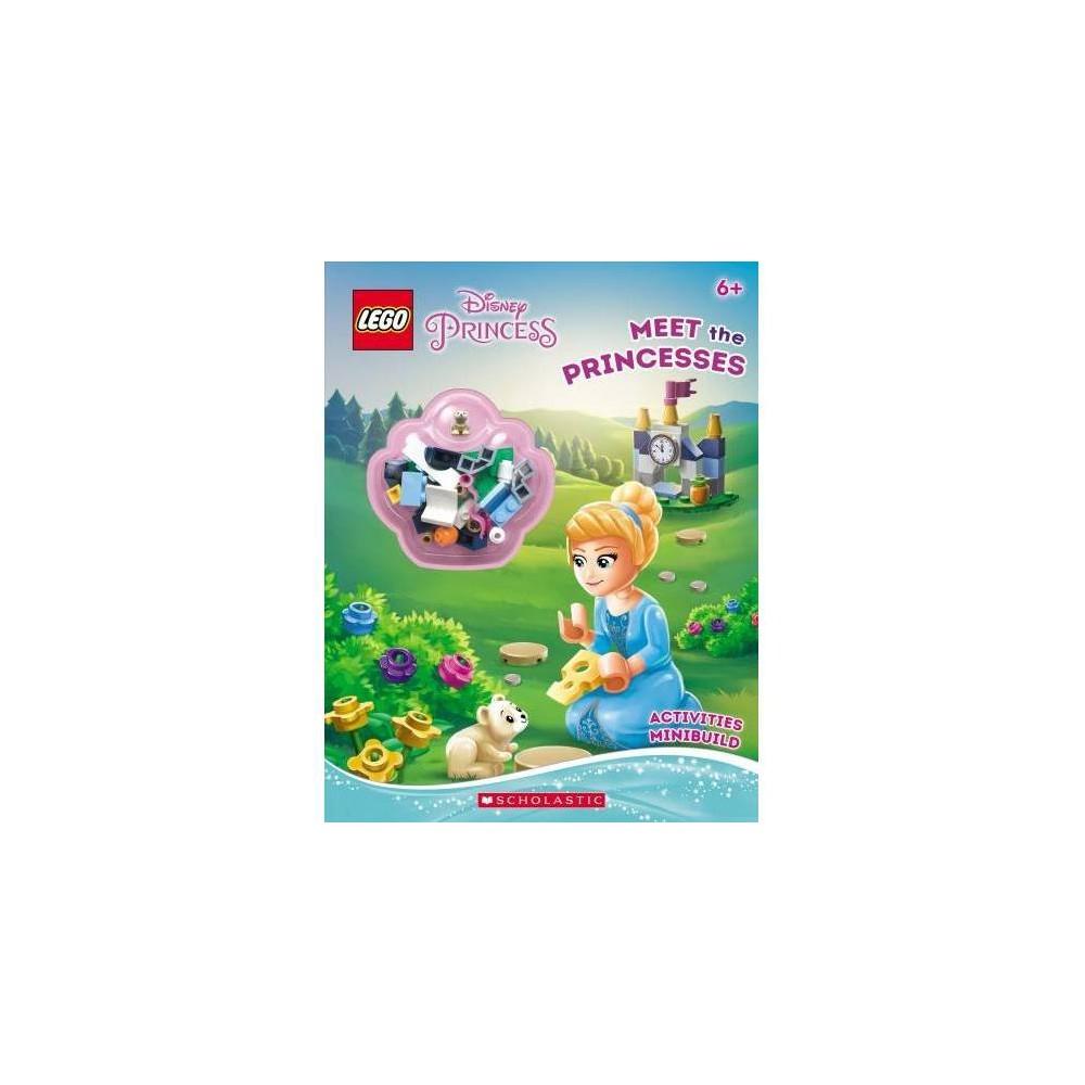 Meet the Princesses : Lego Disney Princess: Activity Book With Minibuild - (Paperback)