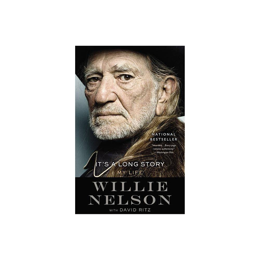 It S A Long Story By Willie Nelson Paperback