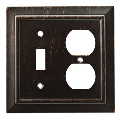 Franklin Brass Classic Architecture Switch/Duplex Wall Plate Venetian Bronze