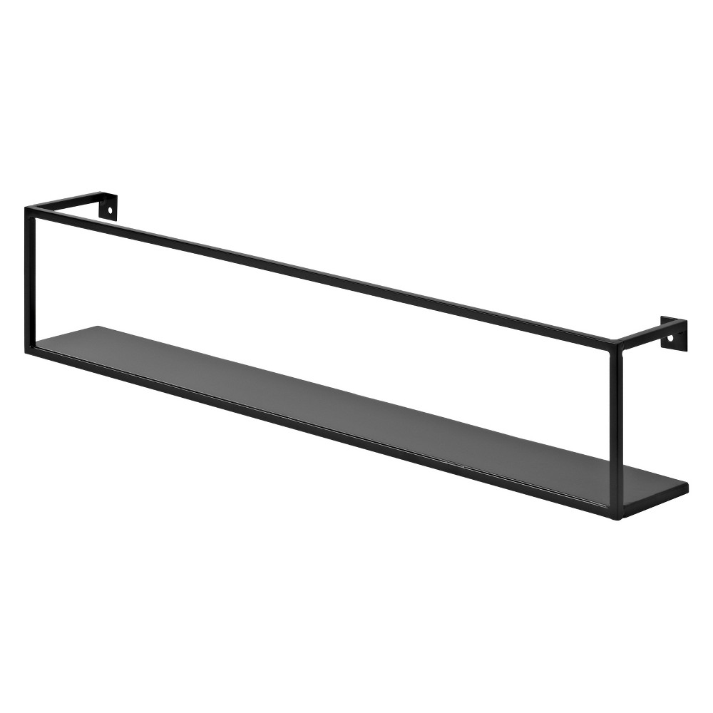 Floating Wall Shelf 24 - Black