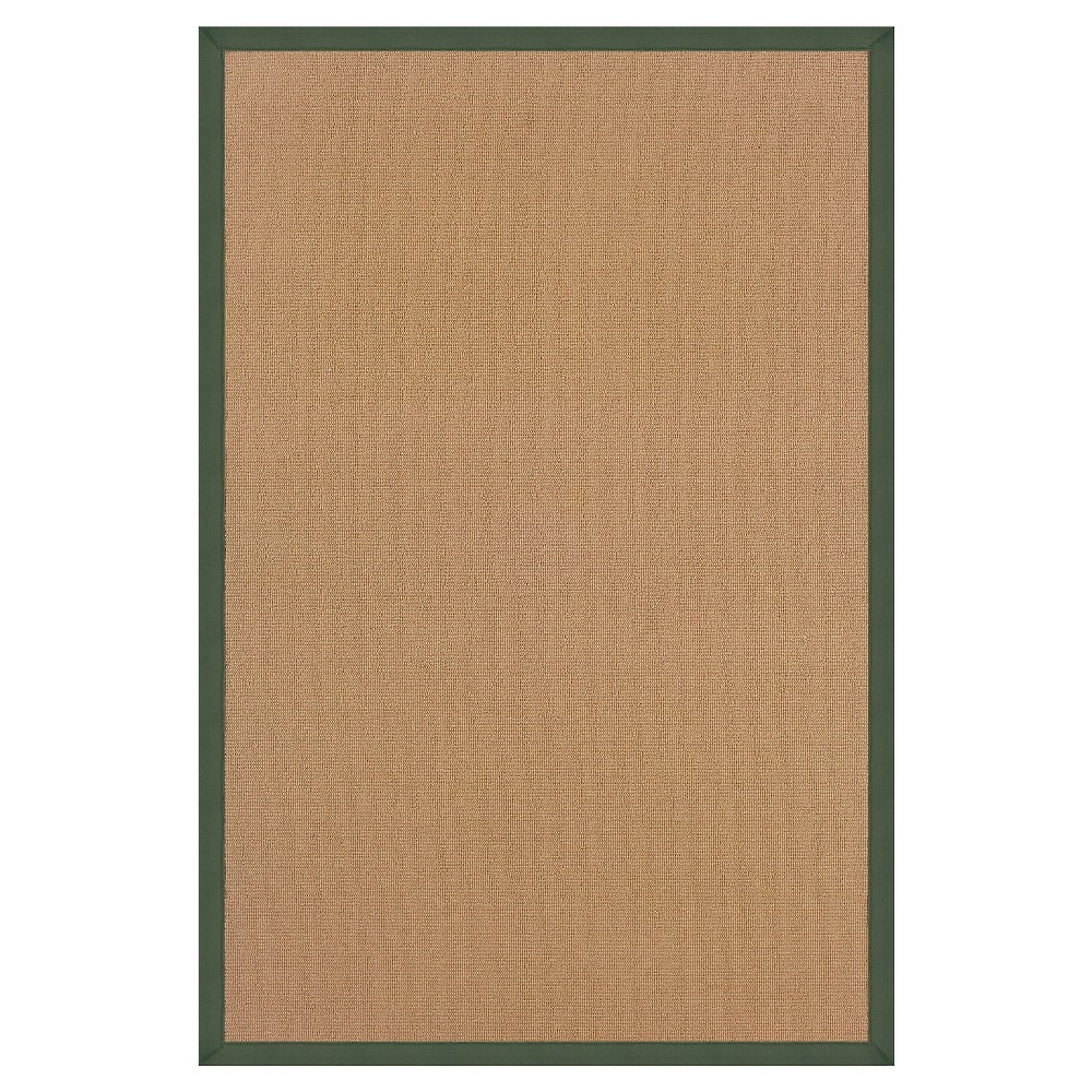 Athena Wool Runner - Green (2'6 X 8')