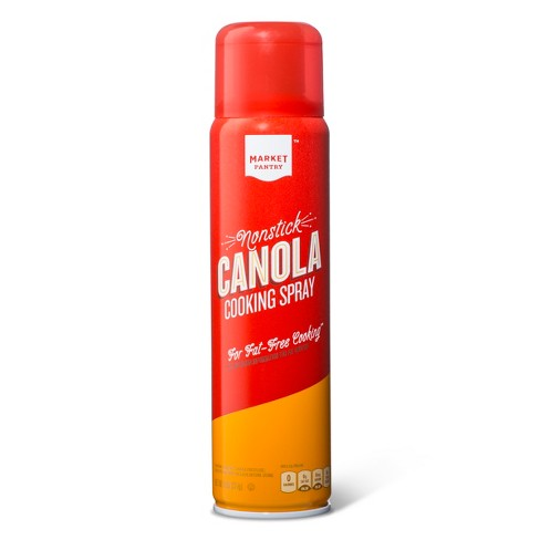 Image result for Nonstick Canola Oil Cooking Spray - 8oz - Market Pantry™