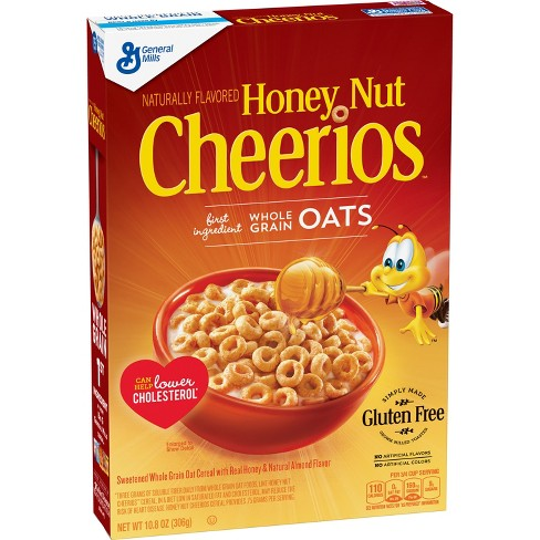 Honey Nut Cheerios Breakfast Cereal - 10.8oz - General Mills - image 1 of 4