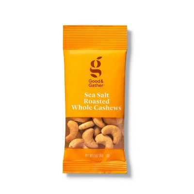 Salted Roasted Cashews - 2oz - Good & Gather™