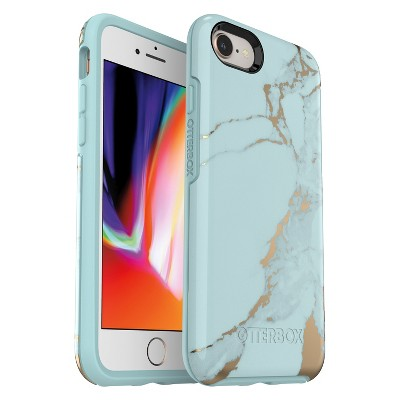 huge selection of 217d2 43e72 OtterBox Apple iPhone 8/7 Symmetry Case – Teal Marble – Target ...