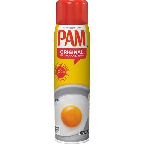PAM 100% Natural Fat-Free Original Canola Oil Spray - 8oz - image 1 of 1