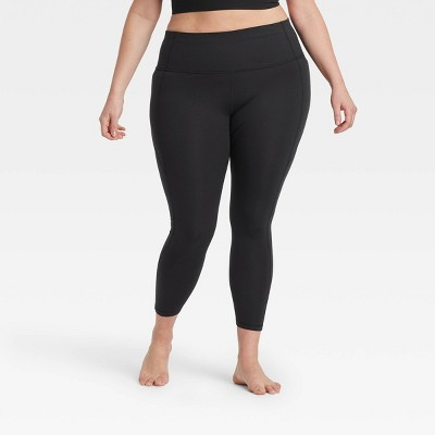 Women's Contour Power Waist High-Rise Leggings with Stash Pocket - All in Motion™