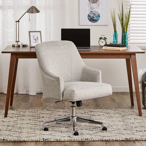 Leighton Home Office Chair Gray Serta Target