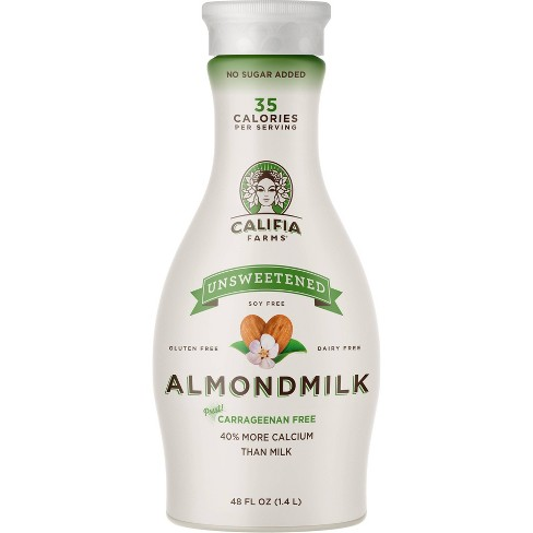 Califia Farms Dairy-Free Unsweetened Pure Almond Milk - 48 fl oz - image 1 of 3