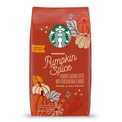Starbucks Pumpkin Spice Medium Roast Ground Coffee - 11oz - image 1 of 4