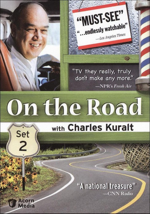 On the road with charles kuralt set 2 (DVD) - image 1 of 1