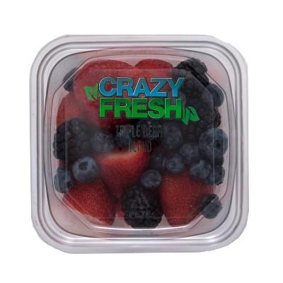 Crazy Fresh Triple Berry Blend - 14oz