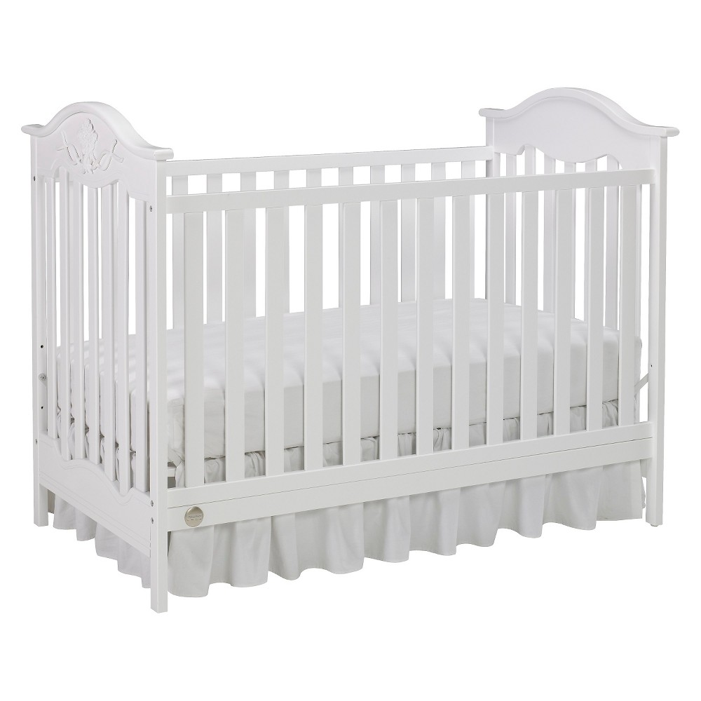Fisher-Price Charlotte Rose 3-in-1 Convertible Crib - Snow White