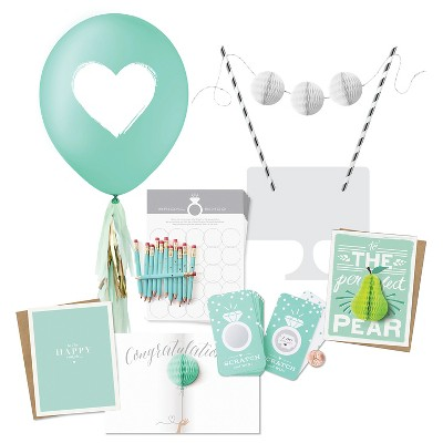 Inklings Paperie® Jeweler Blue Bridal Shower Collection