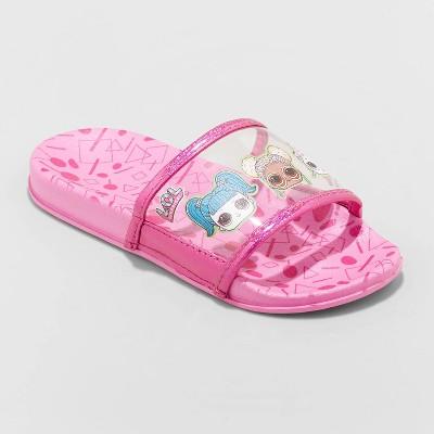 Girls' L.O.L. Surprise! Slip-On Slide Sandals - Pink