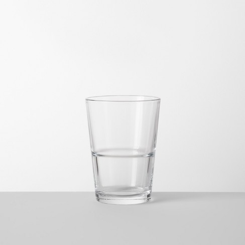 16.4oz Glass Stackable Tall Tumbler - Made By Design™ - image 1 of 4