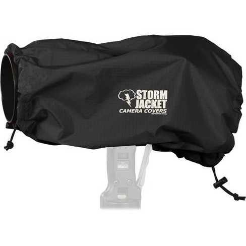 Vortex Media Pro Storm Jacket Cover for an SLR Camera with a Large Lens Measuring 14  to 23  from Rear of Body to Front of Lens, Color: Black - image 1 of 3