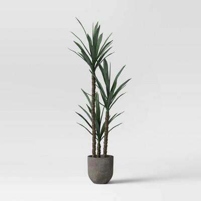 Faux Dracaena Plant Gray/Green - Project 62™