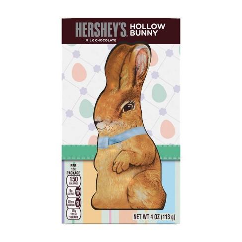 2e3bd18b051d9 Hershey s Milk Chocolate Hollow Easter Bunny - 4oz   Target
