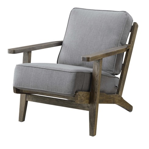 Mercer Accent Chair With Antique Legs Charcoal Brown - Picket House  Furnishings : Target - Mercer Accent Chair With Antique Legs Charcoal Brown - Picket House