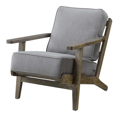 Genial Mercer Accent Chair With Antique Legs Charcoal Brown   Picket House  Furnishings : Target