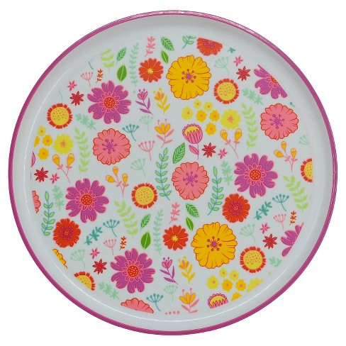 "Floral Dinner Plate 9.6""x9.6"" - Circo™ - image 1 of 1"